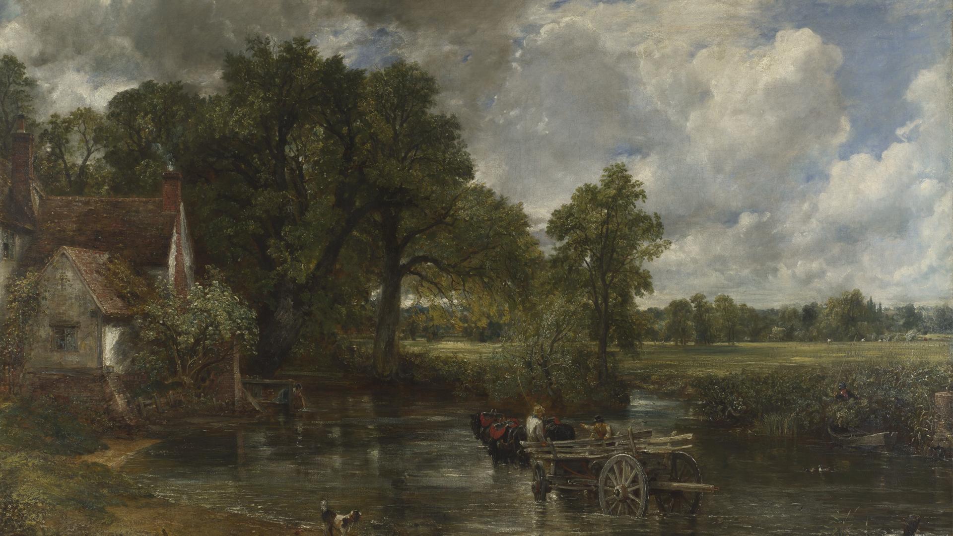 NG1207 - John Constable. The Hay Wain. 1821. © The National Gallery, London