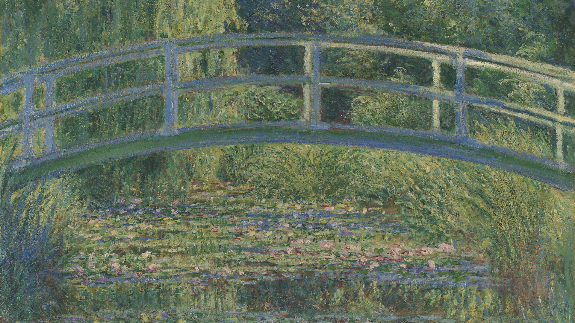 NG4240 - Claude Monet. The Water-Lily Pond. 1899. © The National Gallery, London